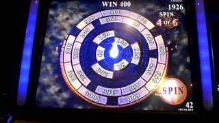 Phantom of the Opera Bonus Win on Slot Machine