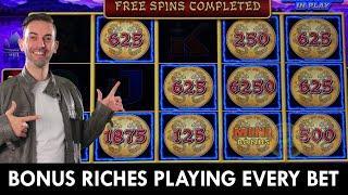 ★ Slots ★ BONUS RICHES Playing Every Bet ★ Slots ★ Wild Willie Nelson Trigger Bonus ★ Slots ★