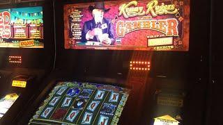 Kenny Rogers THE GAMBLER Slot Machine Gameplay