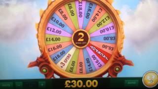 Dragons Wild Slot!Free spins Nice Win & bonus wheel wins
