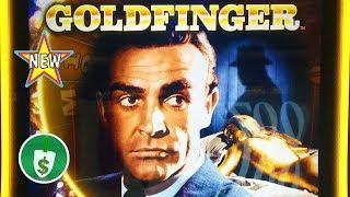 •️ New - James Bond - Goldfinger slot machine, bonus