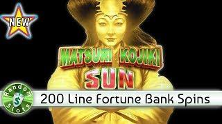 •️ New - Matsuri Kojiki Sun slot machine with Fortune Bank Spins