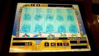 Sea-Monkeys Slot Machine Bonus Win (queenslots)