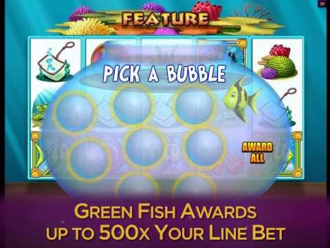 Fish party online slot game promo video for Gold fish casino promo codes