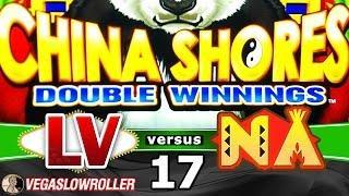 Las Vegas vs Native American Casinos Episode 17: China Shores Double Winnings