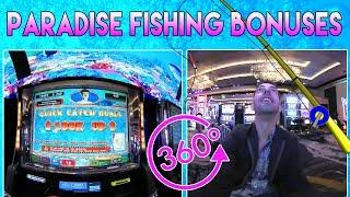 • Paradise Fishing 360• • HUGE WIN • Cosmopolitan, Las Vegas