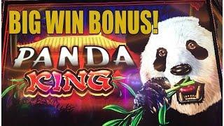 BIG WIN! PANDA KING SLOT MACHINE BONUS