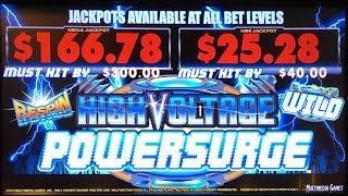 High Voltage Powersurge slot machine, DBG