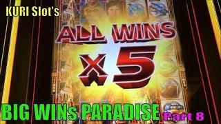 •BIG WIN PARADISE• KURI Slot's Big Wins Paradise Part 8 •5 of Slot machines Big win• /Must see it•
