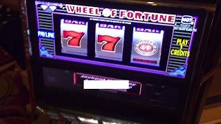 High limit 15 dollars a pull Wheel of fortune slot HUGE WIN Hand pay