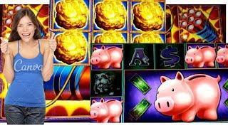 FIRST LOOK• •Eureka Reel Blast• Piggy Bank• All Bonuses•