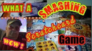 """• Shock•of a Scratchcard Game•""""WOW""""•Just LIKE if you want more videos•what a classic game•"""