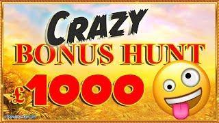 • CRAZY BONUS HUNT !!! So Many Ups and Downs •