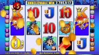 "MR CASHMAN JAILBIRD Video Slot Casino Game with an ""UNBELIEVABLE"" BONUS"