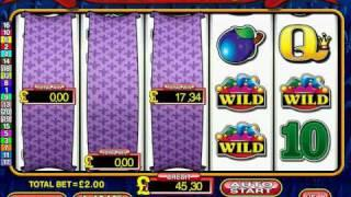 2 & 3 Scroll Features on Astra's Reel King  S16 Fruit Machine £500 Jackpot Sim