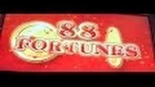 88 Fortunes Slot Machine Bonus-Live Play