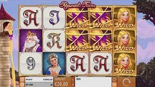 Rapunzel's Tower Online Slot from Quickspin