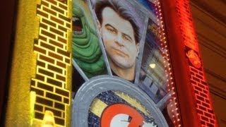 Ghostbusters Slot Machine Bonus - Me & The Cousin Progressive Hunting!  ~ IGT