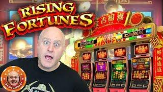 •DOUBLE JACKPOTS on NEW GAME Rising Fortunes! •| The Big Jackpot