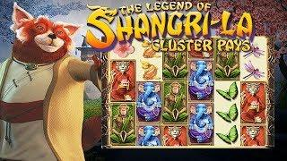 Legend of Shangri-La: Cluster Pays from NetEnt