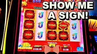 DEAR SLOT MACHINE SHOW ME A SIGN!!! - New Las Vegas Casino Slots Bonus