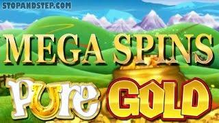 Rainbow Riches Pure Gold - MEGA SPINS - Coral FOBT