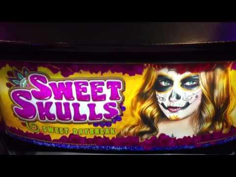 GREAT WIN! * ARISTOCRAT SWEET SKULLS * Slot Major Jackpot!