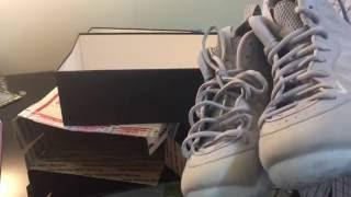 52047f00c32b ᐅ Nike wolf grey foamposites unboxing and on feet - Free Online Games