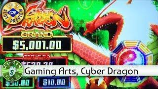 Cyber Dragon  slot machine preview, Gaming Arts, #G2E2019