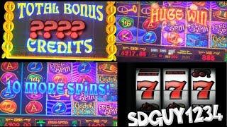 BIG WIN!! LIVE PLAY and Bonus on Gods and Titans Slot Machine