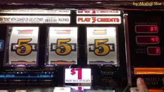 Break Even II•Triple Gold Bars $1 Slot Machine - 3 Reels @ Pechanga Resort & Casino