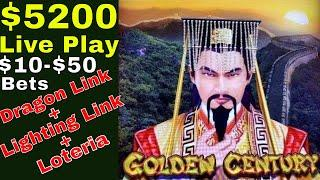 $5200 Live Play | Viewers & Subscribers Request • Dragon Link, Lighting Link & Loteria Lock It Link