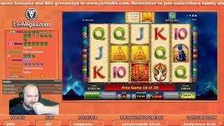 Big Bet!! Big Win From Pharaohs Ring Slot!!