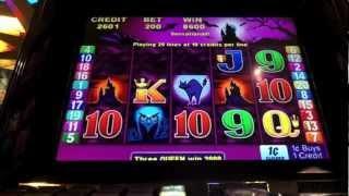 Aristocrat - Scatter Magic III Slot Machine Bonus