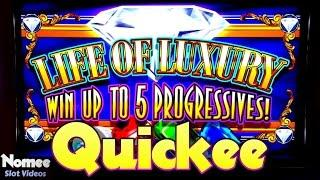 Life of Luxury Progressive Slot Machine - Free Spins Bonus - Max Bet