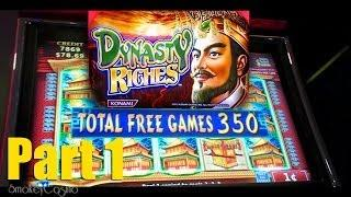 *HUGE*NEW DYNASTY RICHES Slot PART 1 Chasing Progressive