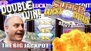 •Record Breaking! •DOUBLE Super Lucky Lotus JACKPOT$ •| The Big Jackpot