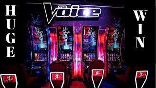 THE VOICE Slot Machine SUPER BIG WIN | BUffalo Gold Max Bet Bonus, Gold Bonanza Bonus,Konami Bonuses