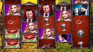 LOVE IMMORTAL Video Slot Casino Game with a RETRIGGERED LOVE BITES FREE SPIN BONUS