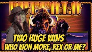 BIG WINS FOR REX & ME ON BUFFALO GOLD