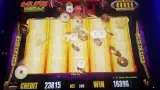 Progressives and Bonus Wins Galore! ** Golden Zodiac Slot MAX BET Hits
