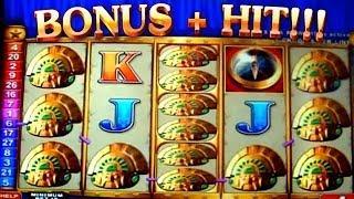 Bonus + HUGE HIT on Quest for Riches - 5c Aristocrat Video Slots