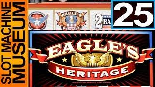 EAGLES HERITAGE (Bally)  - [Slot Museum] ~ Slot Machine Review