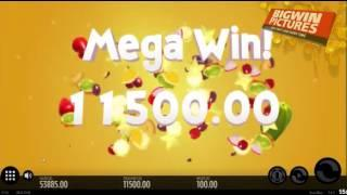 Fruit Warp Slot -  11.500€ HUGE WIN!