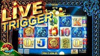 50 FREE LIVE TRIGGER!!! Sun & Moon - 5c Aristocrat Video Slot