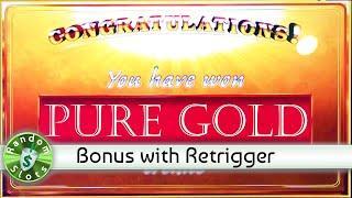 Pure Gold slot machine bonus
