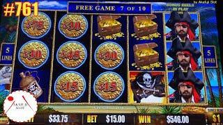 Jackpot⋆ Slots ⋆Dollar Storm Caribbean Gold Slot Handpay 赤富士スロット  あかふじ