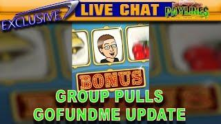 LET'S CHAT! - GROUP PULLS: Do you like them? - gofundme.com/slotmuseum