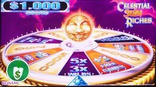 •️ NEW -  Celestial Sun Riches slot machine, bonus