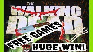 THE WALKING DEAD 2 | FREE GAMES | HUGE WIN AT THE END!